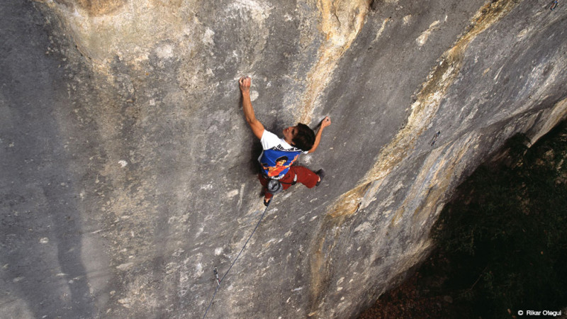 Josune Bereziartu became the first woman to climb 5.15a with Bimbaluna, considered a soft 5.15a or 5.14d/15a.