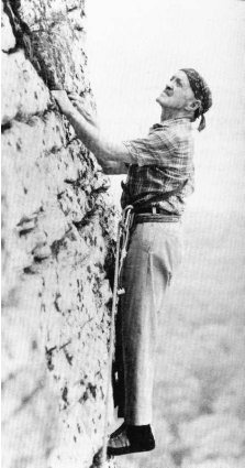 Fritz Weissner was one of the world's best climbers in the 1930s-1950s. He made early bid on the first ascent of  K2, but his contributions to the Gunks will be felt by the thousands of climbers who test themselves on his routes.