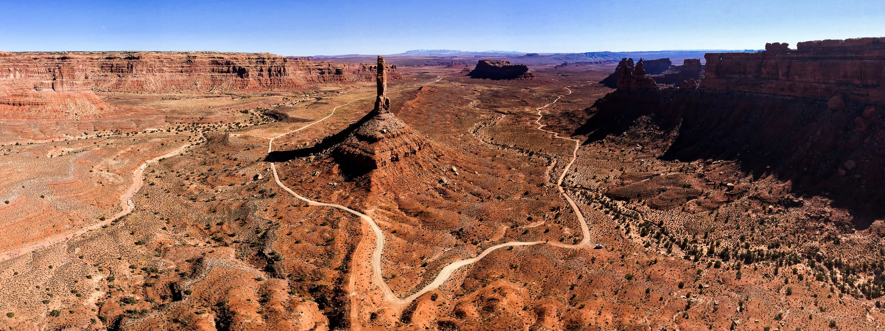Eagle Plum Tower, Valley of the Gods. Photo: Jonathan Thesenga
