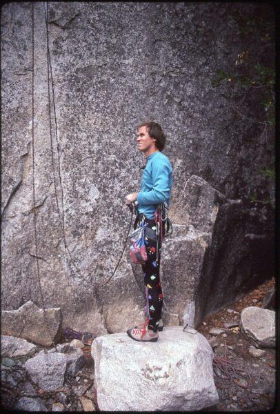 Alan Watts, Cookie Cliff, 1985; copyright Jeff Smoot